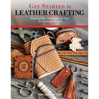 BOK GET STARTED IN LEATHER CRAFTING