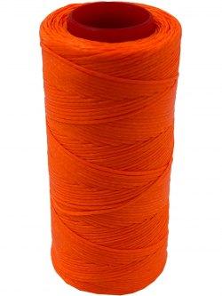 TRÅD SYNTETISK VOKSET - ORANGE NEON - 100 GR - 0,8 MM