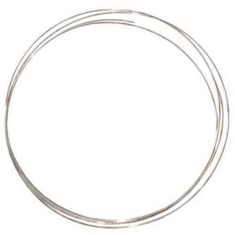 Sølvtråd Ø 1 mm 1 dm