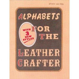 ALPHABET FOR THE LEATHER CARVER - ENGELSK