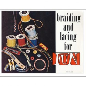 BOK - BRADING AND LACING FOR FUN - ENGELSK