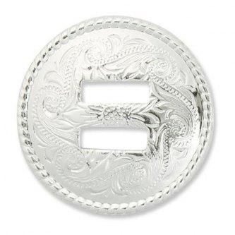 CONCHO SPOR - SILVER - 38 MM