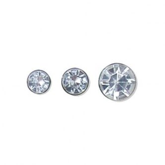 PYNTENITE CRYSTAL CLEAR - 7 MM - 100 PK
