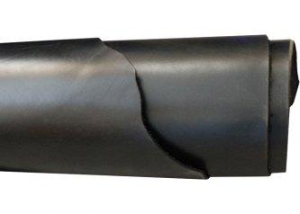 PLATTLÆR NEDFALSET - SVART - 3,0/3,5 MM - HEL PR. M2